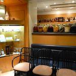 中国薬膳料理 星福 - お店入り口では、漢方的匂いがしますが、ここだけの事です。
