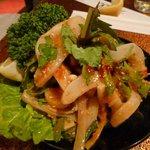 明月苑 - 料理写真:イカ刺し