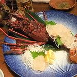 三崎漁師物語り - 【岬夢想海老/2~3人前(5250円)】お造り。