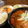 韓国家庭料理 ソウル家 - 料理写真:ユッケジャンスープ