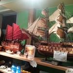 ハノイのホイさん - ホイアンで購入した帆船模型