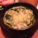 焼肉 じばご - 野菜スープ