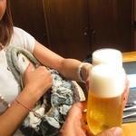 食酒 あきしろ by Mizuno - 先ずはBEERで乾杯!2014/8月