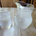 ジパング - 「ジパング」氷水とポット