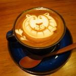 ギャラリー & カフェ ズーロジック - カプチーノ