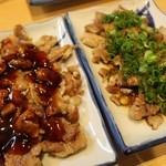 佐松 - 料理写真:せせり(タレ・ポン酢)