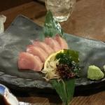 五島食堂マコイチ - 羽かつお