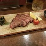五島食堂マコイチ - 佐賀牛のイチボ