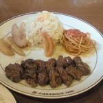 キャプテンズ・キッチン - 料理写真:ランチ サイコロステーキ 130g