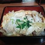 とんかつ竹 - かつ重(750円)