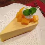カフェ・グラン・ジュテ - マンゴーレアチーズケーキ