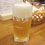 荻窪ビール工房 - ホワイト(590円)