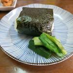 安田製麺所 - おまけの生井っ子おにぎり