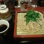 29595242 - 『にらもり』蕎麦に見えますが蕎麦粉無しの中華麺 幻になってしまうかな?