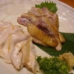とさか - 地鶏のタタキ