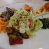 フルーツパーラー附木屋 - 料理写真:ランチの野菜タップリ前菜盛り合わせ