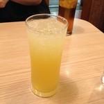 カレー道場 黒帯 - オレンジジュース
