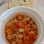 フルーツパーラー附木屋 - 野菜と豆のミネストローネ風スープ煮