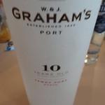 フルーツパーラー附木屋 - この日はグラハムのポートワイン