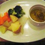カフェ バンダ - 有機野菜のオイルつけ