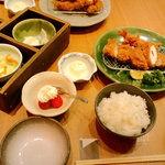 かつ工房 和幸 - 料理写真:レディース御飯