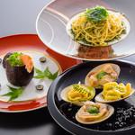 La Cuisine Japonaise 玻璃 - ファーストディッシュ:チョイス料理3種類
