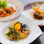 La Cuisine Japonaise 玻璃 - プレミアムディッシュ:チョイス料理3種類
