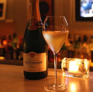 バー・バックヤード - Champagne Taittinger a Reims Brut Reserve  (2014/08)