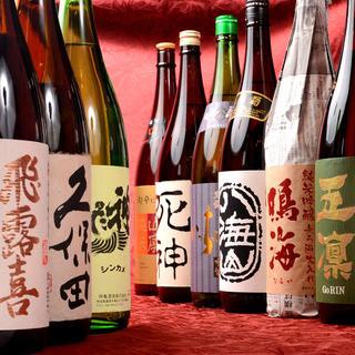 プレミアム日本酒・焼酎・泡盛も