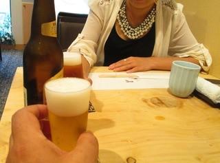 てんぷら 木坂 - 昼から飲むBEERは旨い!