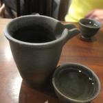 おか田 - 日本酒はメニュー無し、全て店員さんと相談して。