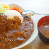 肉屋の台所 - 料理写真:【2014年8月再訪】特製ハンバーグカレー1000円!