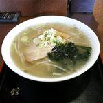 コーヒーとお食事 舘 - 料理写真:塩ラーメン(600円)