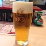 金沢まいもん寿司 - 140808 生ビール