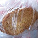 ペルドマーニ - フォアグラのパテを食べる自家製のラスク♪