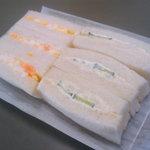 PAIN D'OR - いつものサンドイッチ。サンドイッチのパンがウマイ!というサンドイッチ。これを買えた日はホントに嬉しい。