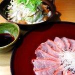 和雅家 - 金目鯛のしゃぶしゃぶは、沢山の野菜と共に、身体の芯から温まって頂けるのでお勧めです!