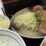 29611666 - ねぎ塩ロース豚定食