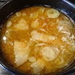 つけ麺 信玄 要町店 - 醤油つけ麺のつけ汁