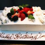 恵び寿 Y邸 - 予約必須のバースデーケーキはパティシエ特製の一皿