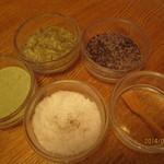 29618529 - 塩も昆布、梅、抹茶、と