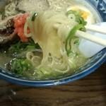 めん壱 - 豚骨らーめん麺リフト