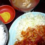 寅 - 豚バラショウガ焼定食