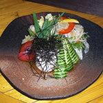じぇいびぃず - 山芋とオクラのあっさりサラダ