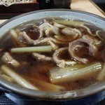 さぬき庵 - 鴨南蕎麦