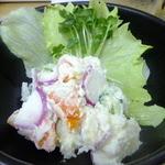 四ツ木製麺所 - ポテトサラダ