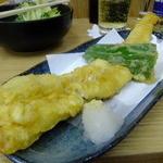 四ツ木製麺所 - アナゴ天ぷら