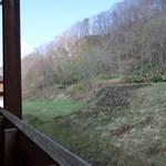 レストラン チロル - 翌朝、部屋の窓から