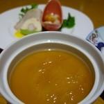 レストラン チロル - フカヒレ茶碗蒸し