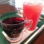 29620943 - 赤ワインとソルティスイカジュース